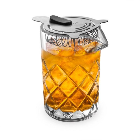 Yarai Seamless Mixing Glass with Stainless Steel Strainer - 400ml