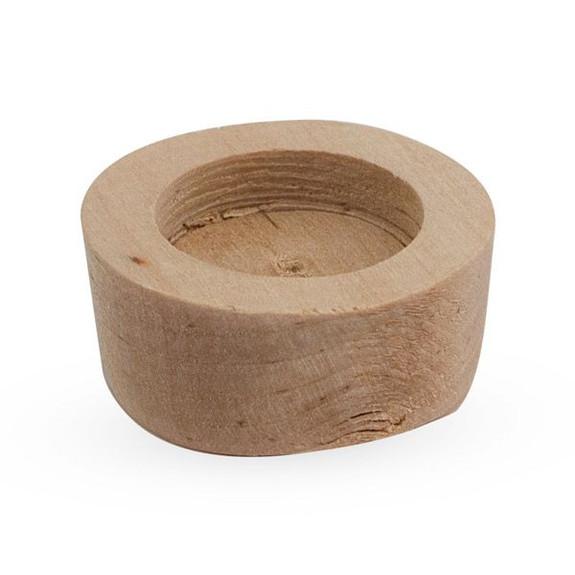 Wooden Keystone Bung for Cask Ale