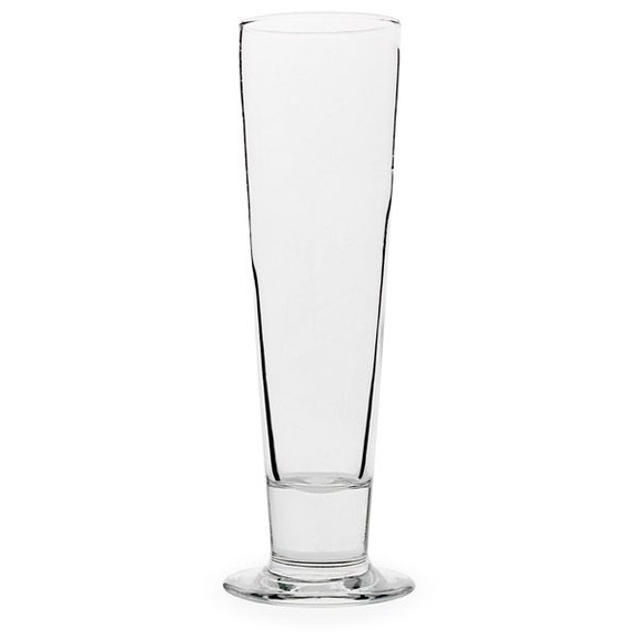 Libbey Catalina Footed Pilsner Beer Glass Empty