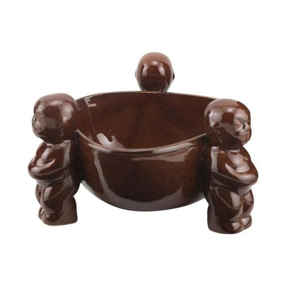 Scorpion Bowl Ceramic Tiki Drink Bowl - 24 oz