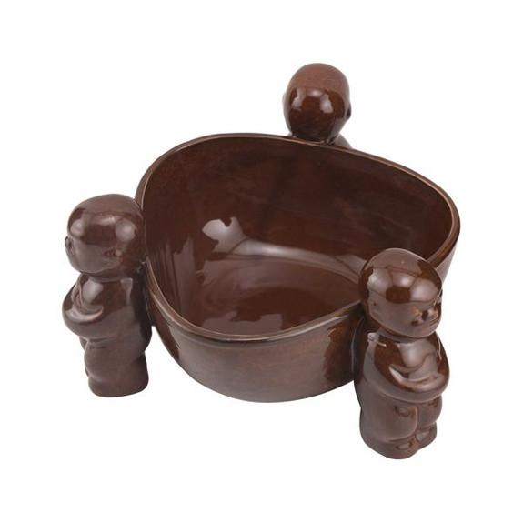 Scorpion Bowl Ceramic Tiki Drink Bowl Top View