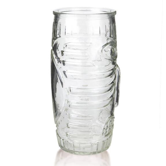 Libbey Glass Tiki Mug - Tall Tumbler - 20 oz