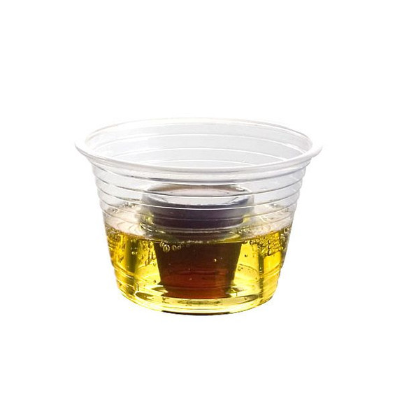 Party Bombers Shot Cups Plastic In Use