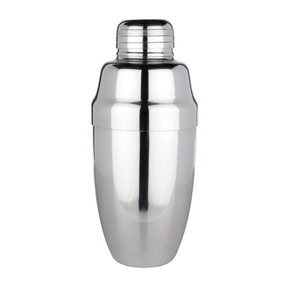 Viski Professional Heavyweight Cocktail Shaker - 17 oz - Stainless Steel