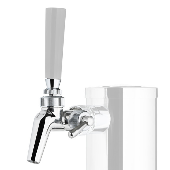 Perlick Perl 690SS Creamer With Flow Control Draft Beer Faucet - Stainless Steel
