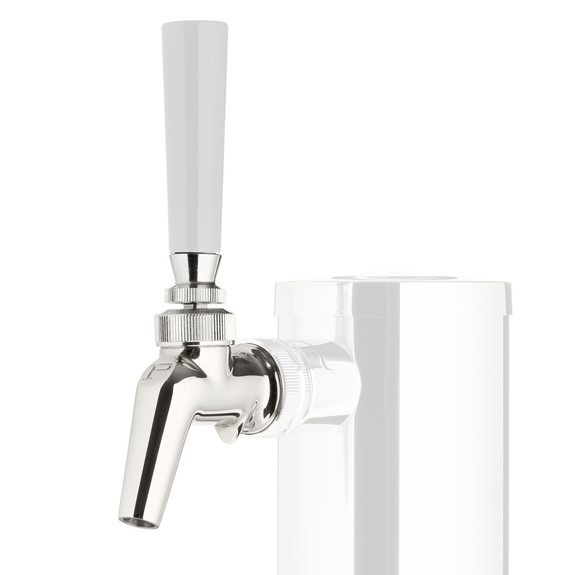 Perlick Perl 680SS Creamer Draft Beer Faucet - Stainless Steel