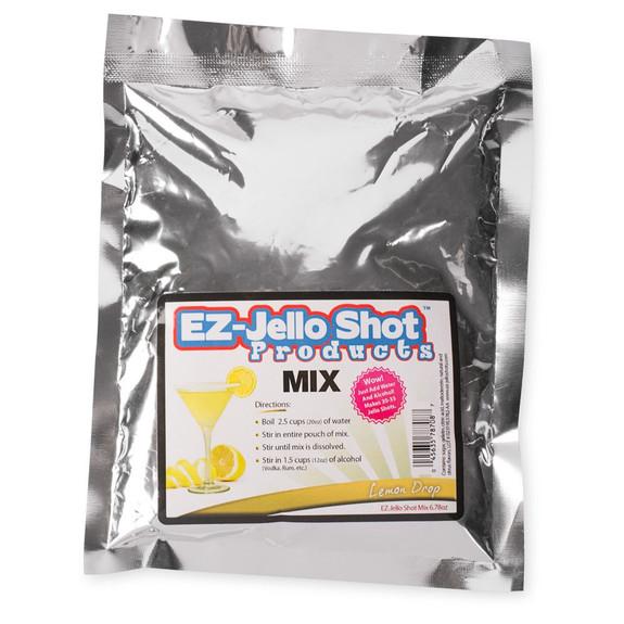 Lemon Drop Flavored Jello Shot Mix - 6.78 oz