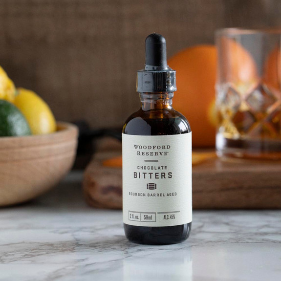 Woodford Reserve Bourbon Barrel Aged Chocolate Cocktail Bitters - 2 oz