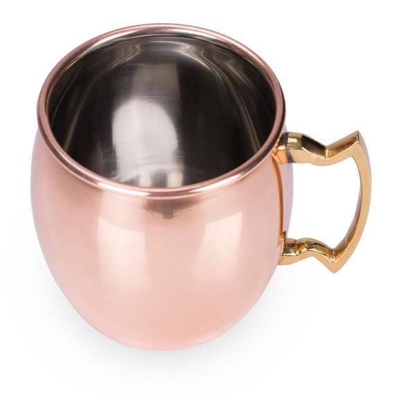Viski Summit Solid Copper Moscow Mule Mug - 16 oz