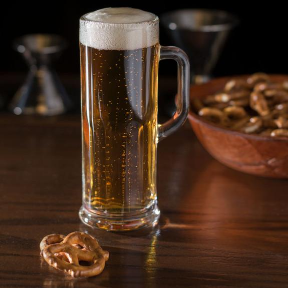 Libbey Frankfurt Paneled Beer Mug Sampler Glass - 4 oz
