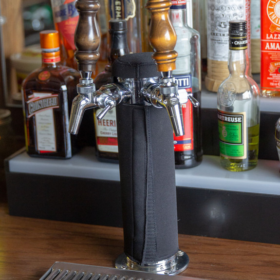 """Insulating Beer Tower Cover - 3"""""""