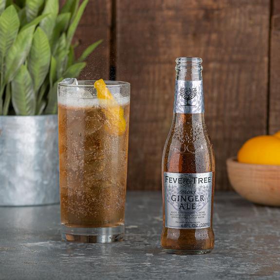 Fever Tree Smoky Ginger Ale - 6.8 oz