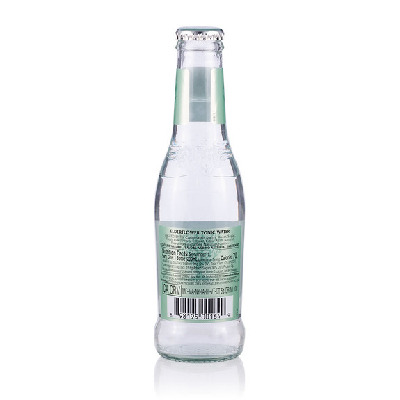 Fever Tree Elderflower Tonic Water - 6.8 oz