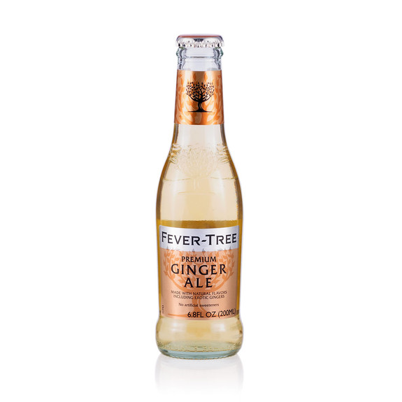 Fever Tree Premium Ginger Ale - 6.8 oz