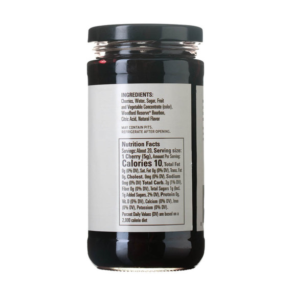 Woodford Reserve Bourbon Cherries - 13.5 oz Jar