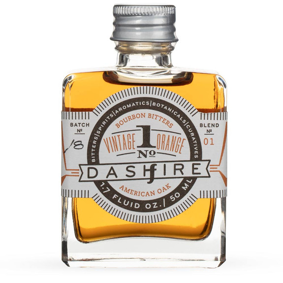 Dashfire Vintage Orange No. 1 Barrel-Aged Cocktail Bitters - 1.7 oz