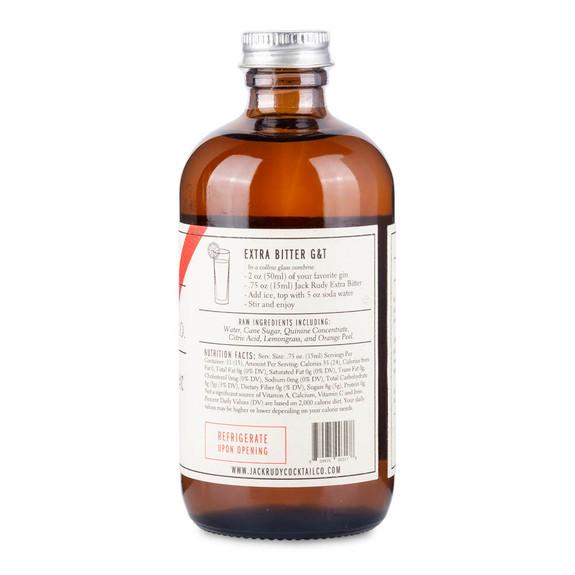 Jack Rudy Extra Bitter Tonic Syrup - 8 oz