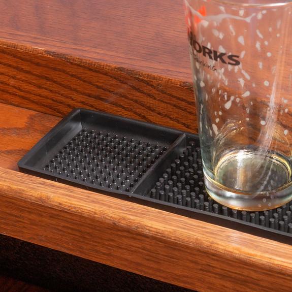 Rubber Bar Service Spill Mat - Black