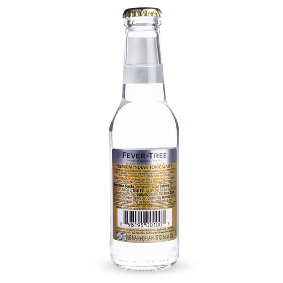 Fever Tree Premium Indian Tonic Water - 6.8 oz