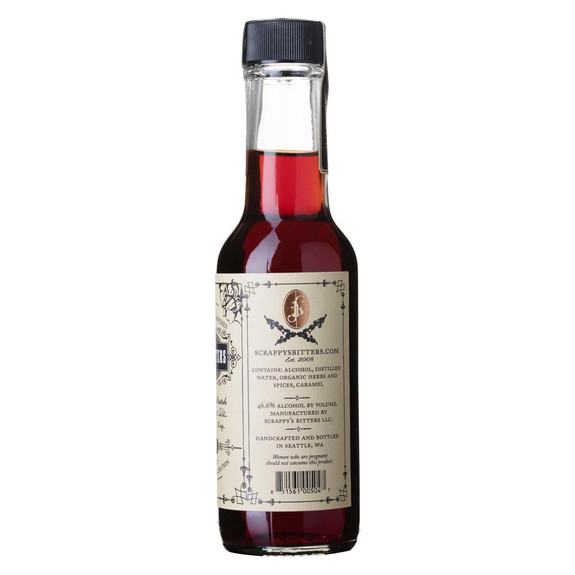 Scrappy's Aromatic Cocktail Bitters - 5 oz