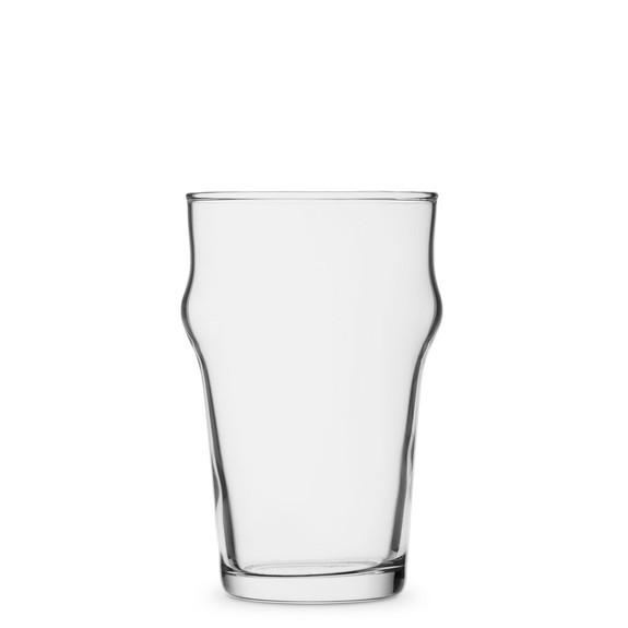 Bormioli Rocco Nonix - British Half Pint Nonic Beer Glass - 10 oz