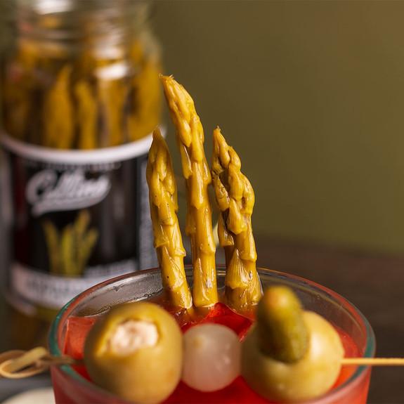 Collins Gourmet Cocktail Garnish Pickled Asparagus - 16 oz Jar