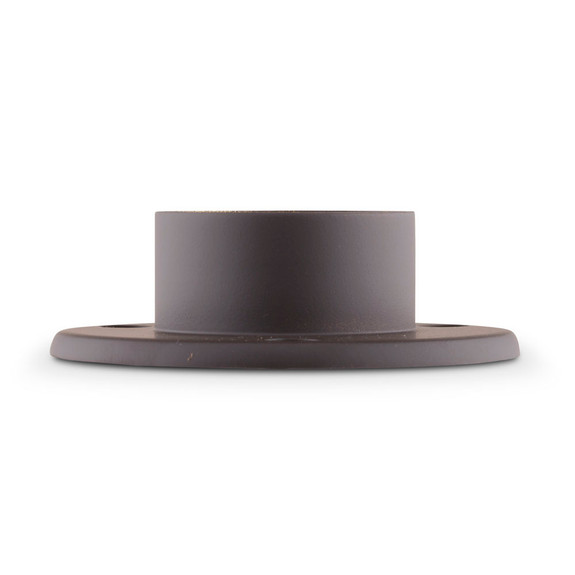 """4"""" Wall Flange - Oil Rubbed Bronze - 2"""" OD"""