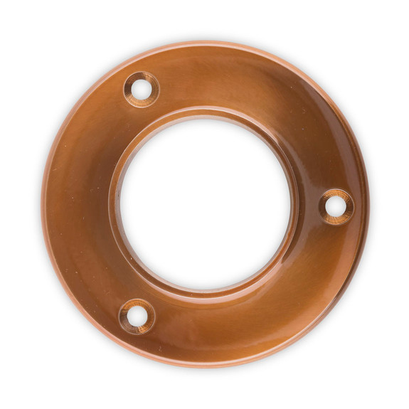 "4"" Wall Flange - Sunset Copper - 2"" OD"