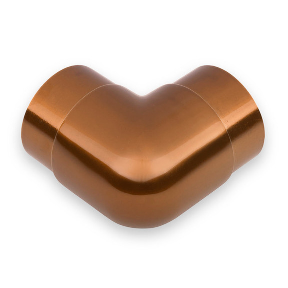 Flush Elbow Fitting 90 Degree - Sunset Copper 2-inch OD