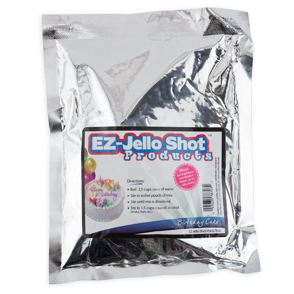 Birthday Cake Flavored Jello Shot Mix - 6.78 oz