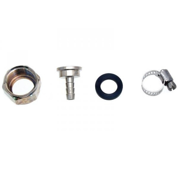 """Connector Kit for 3/16"""" ID Vinyl Hose - Stainless Steel"""