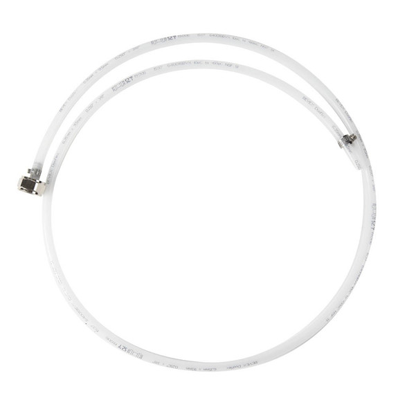 """Barrier Line Jumper - 1/4"""" ID - 5' Barrier Line with Stainless Steel Tail Piece"""