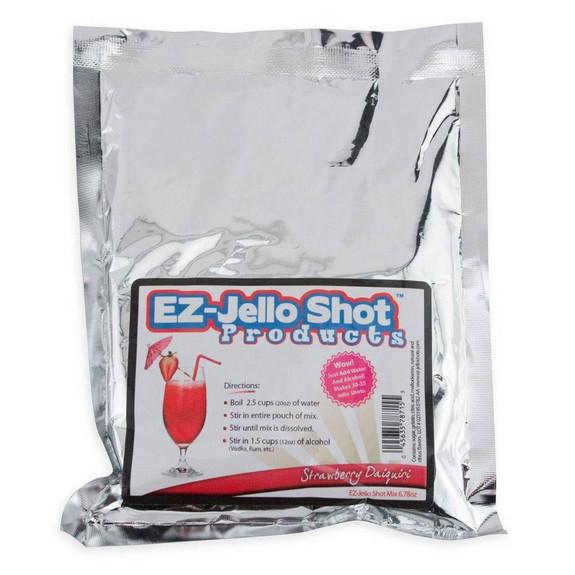 Jello Shot Starter Set - Includes 3 Mixes, 50 Shot Cups & Recipe Book
