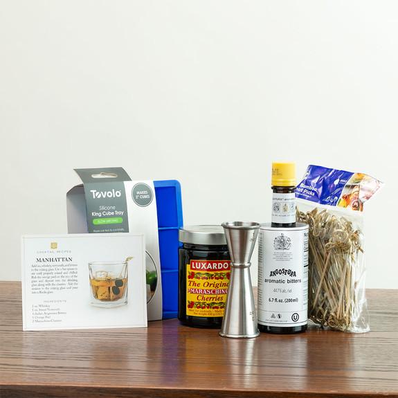 Manhattan Cocktail Deluxe Kit