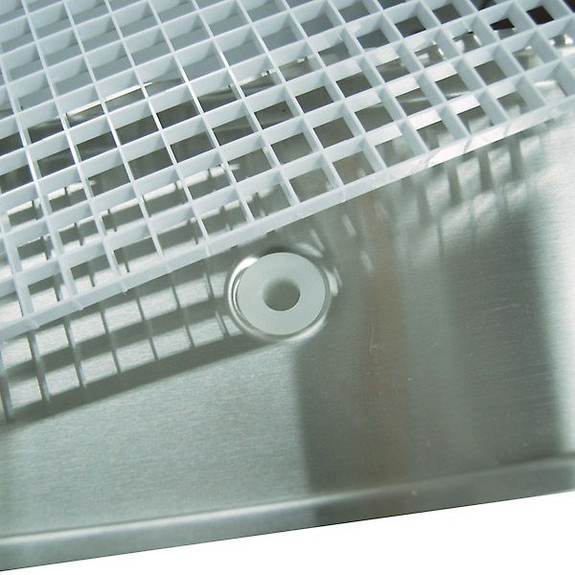 beer drip tray with drain