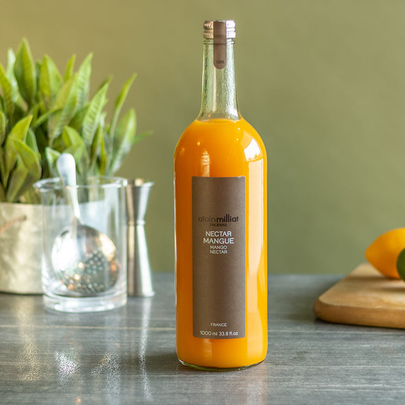 Alain Milliat Traditional Home-Style French Mango Nectar - 1 Liter