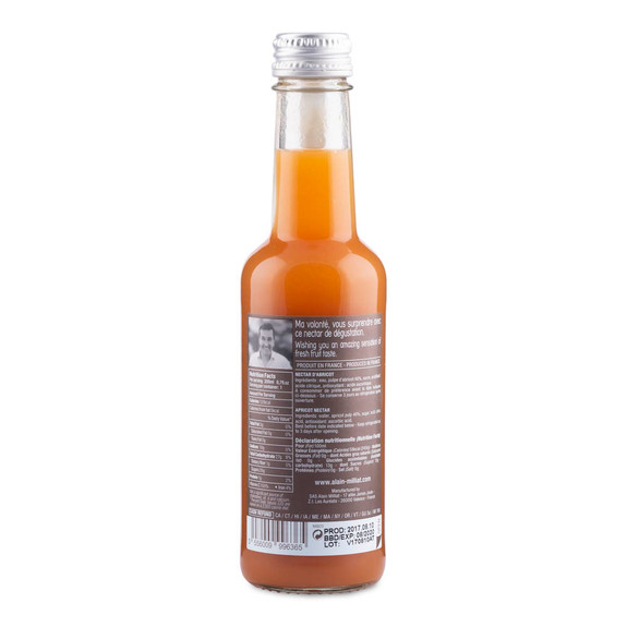Alain Milliat Traditional Home-Style French Apricot Nectar - 6.8 oz