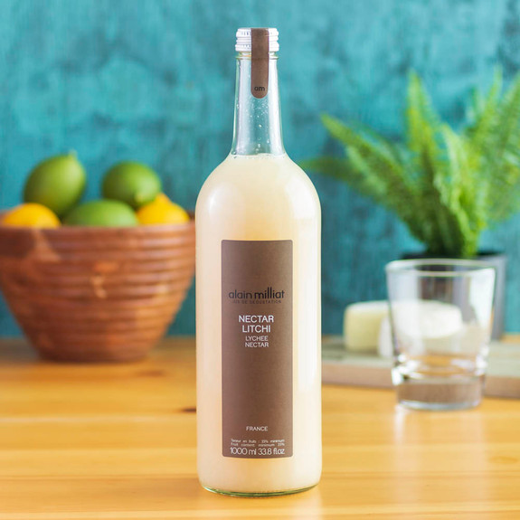 Alain Milliat Traditional Home-Style French Lychee Nectar - 1 Liter