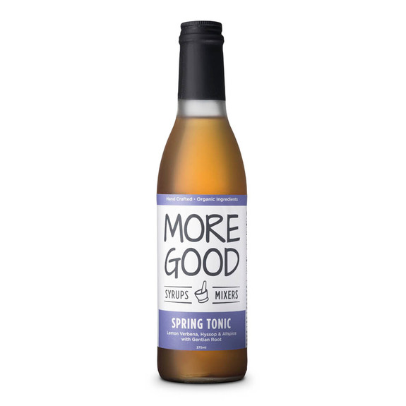 More Good Handcrafted Organic Cocktail Spring Tonic Syrup - 375ml