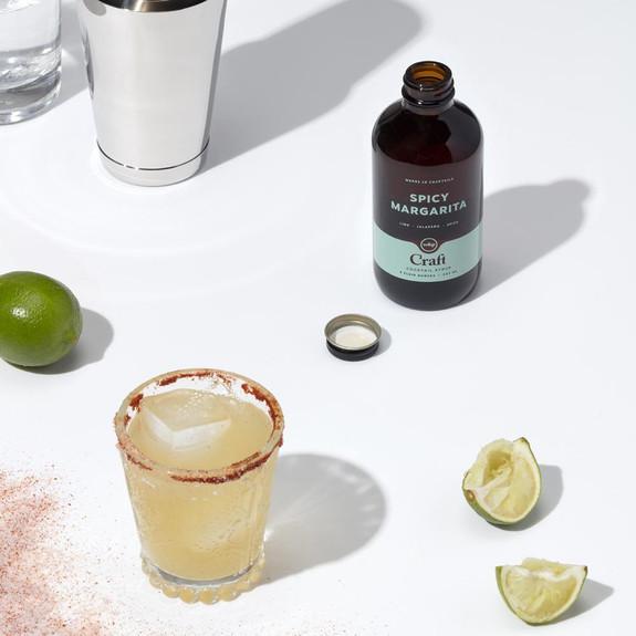 W&P Spicy Margarita Craft Cocktail Mixer Syrup - 8 oz