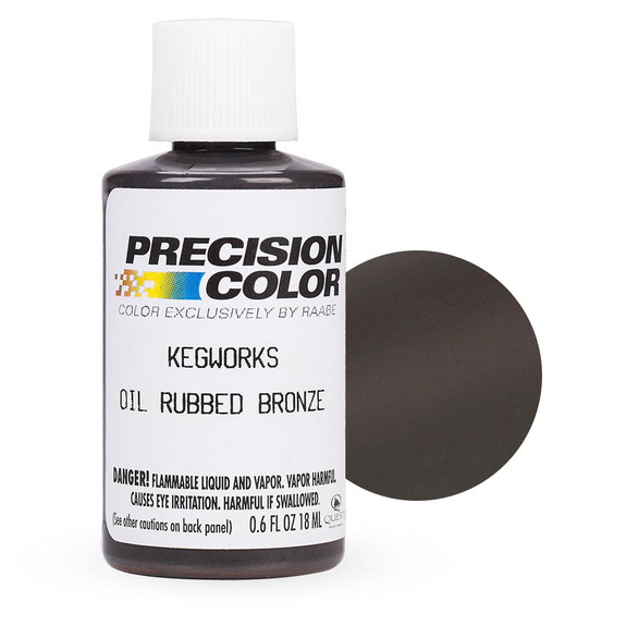 KegWorks Touch-up Paint with Swatch - Oil Rubbed Bronze