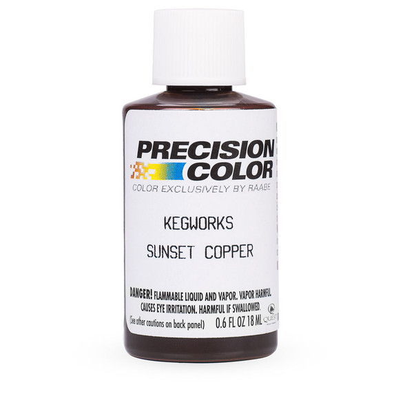 Kegworks Touch-up Bar Rail Paint - Sunset Copper
