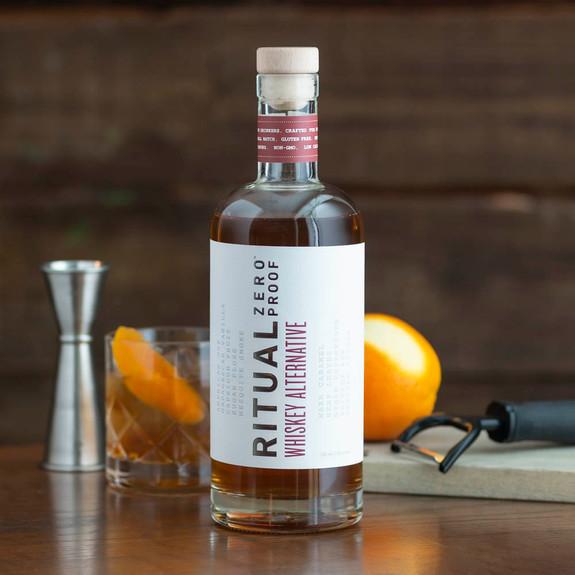 Ritual Whiskey Alternative - Zero Proof - Non-Alcoholic - 750ml