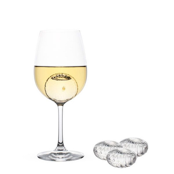 Teroforma Wine Twirls Wine Chillers - Set of 4