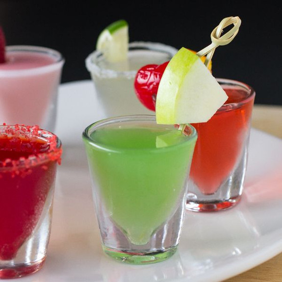 Green Appletini Flavored Jello Shot Mix