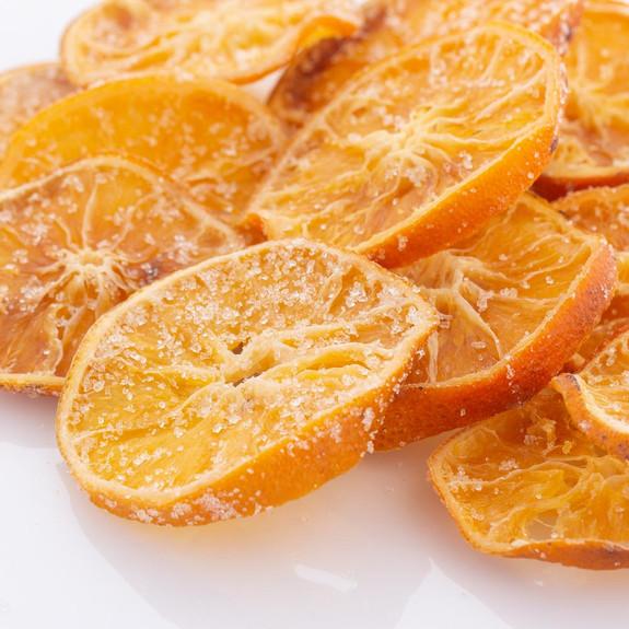 Blue Henry Bittered Candied Orange Slices Cocktail Garnish - 4 oz Pack