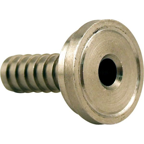 """Tail Piece for 3/16"""" ID Vinyl Hose - Stainless Steel"""
