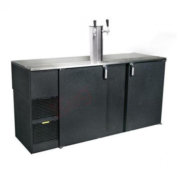 Glastender Kegerator - 2 Faucets