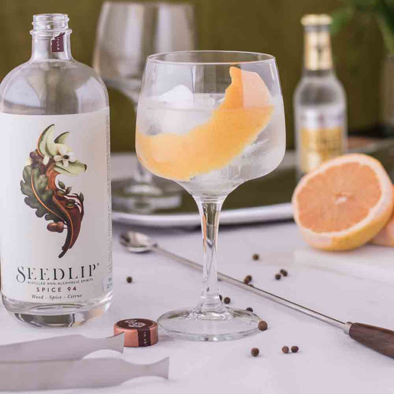 Seedlip Spice 94 Distilled Non-Alcoholic Spirits - 700ml