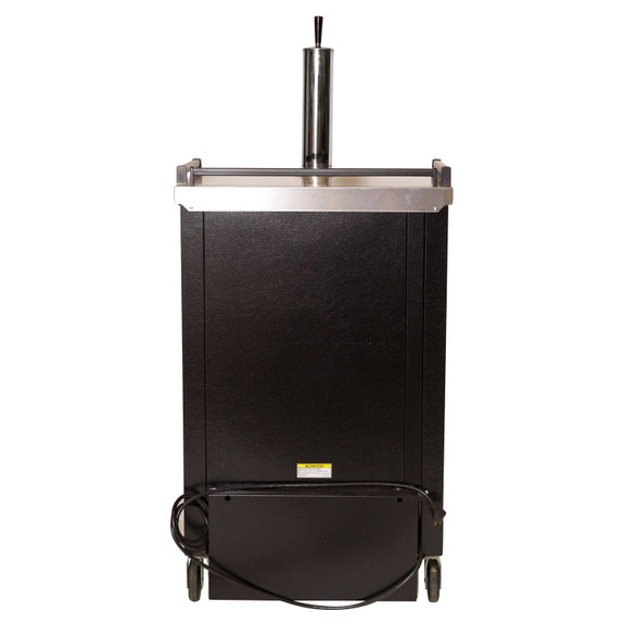 Beverage-Air BM-23 Keg Refrigerator - Black